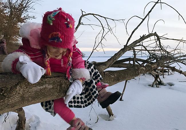 ginny-climbing