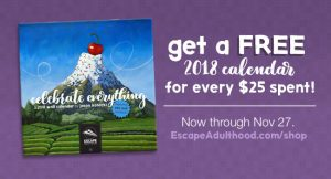 How to Get a Free 2018 Celebrate Everything Calendar