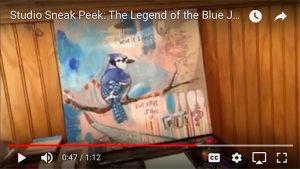 Studio Sneak Peek #2: The Legend of the Blue Jay