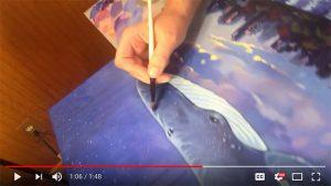 Studio Sneak Peek #7: Glazing the Whale