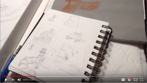 Studio Sneak Peek #26: Feline Sketches