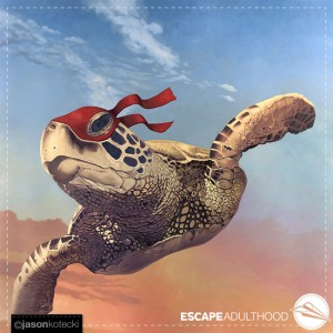 Teenage Mutant Ninja Sea Turtle